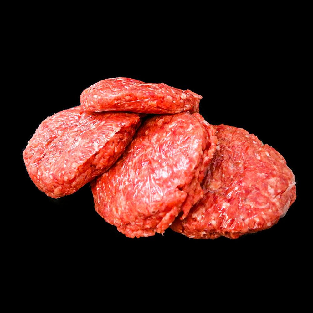 Hamburger di bovino adulto di Fassona Piemontese